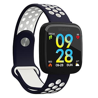 זול שעוני גברים-בגדי ריקוד גברים שעוני ספורט דיגיטלי סגנון מודרני ספורטיבי סיליקוןריצה שחור 30 m עמיד במים בלותוט' Smart דיגיטלי יום יומי חוץ - שחור / ירוק שחור / אדום לבן / כחול