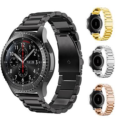 voordelige Horlogebandjes voor Samsung-horlogebandje voor huami amazfit stratos smart watch 2 / 2s / gear s2 klassiek / gear s3 classic samsung galaxy classic buckle metal polsband