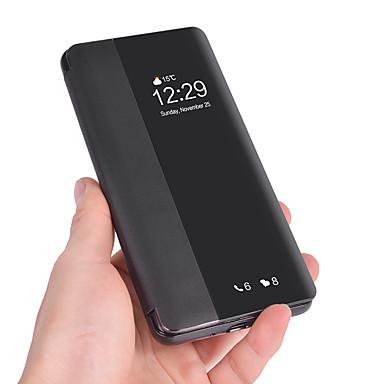 Maska Pentru Huawei Huawei P30 Pro / Huawei P30 Lite Titluar Card / Întoarce / Suspendare / Revenire Automată Carcasă Telefon Mată Moale PU piele pentru Huawei P20 / Huawei P20 Pro / Huawei P20 lite