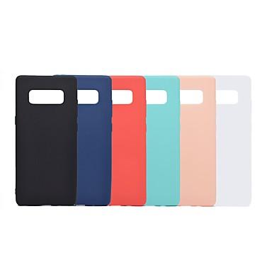 voordelige Galaxy Note-serie hoesjes / covers-hoesje Voor Samsung Galaxy Note 9 / Note 8 Schokbestendig / Mat Achterkant Effen Zacht TPU