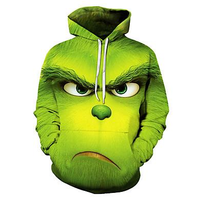 cheap Pre Sale-Men's Basic Hoodie - 3D Green US44