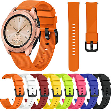 voordelige Smartwatch-accessoires-horlogebandje voor samsung galaxy horloge 42 / gear s2 samsung galaxy modern gesp / sportband siliconen polsbandje