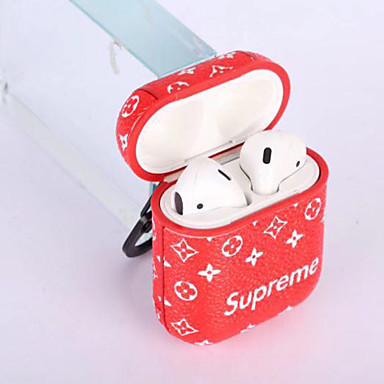 cheap AirPods Cases-Case For AirPods Shockproof / Ring Holder / Pattern Headphone Case Soft