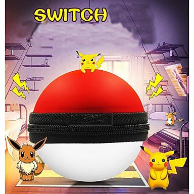 olcso Videojáték tartozékok-nintendo ns pokeball plusz vezérlő játékvezérlő táska fekete piros hordozható hordozó