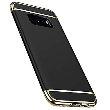 voordelige Galaxy S-serie hoesjes / covers-hoesje Voor Samsung Galaxy S9 / S9 Plus / S8 Plus Beplating Achterkant Effen Hard Muovi