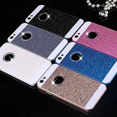 voordelige iPhone 5 hoesjes-hoesje Voor Apple iPhone X / iPhone 8 Plus / iPhone 8 Strass / Glitterglans Achterkant Glitterglans Hard PC