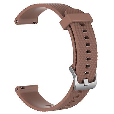 Недорогие Ремешки для часов Huawei-Ремешок для часов для TicWatch C2 TicWatch / Huawei Спортивный ремешок силиконовый Повязка на запястье