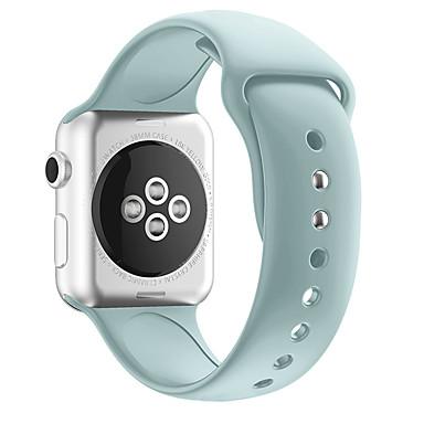 Недорогие Ремешки для Apple Watch-ремешок для часов серии apple 4/3/2/1 apple classic ремешок силиконовый ремешок