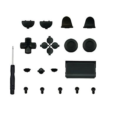 olcso Videojáték tartozékok-játékvezérlő cserealkatrész-készletek a ps4 fogantyú csere gombjának szilikon / pvc (polivinil-klorid) / absz