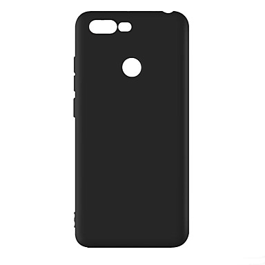 cheap Lenovo Case-Case For Lenovo Lenovo S5 / Lenovo S5 Pro Shockproof / Dustproof / Frosted Back Cover Solid Colored Soft TPU