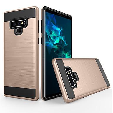 voordelige Galaxy Note-serie hoesjes / covers-hoesje Voor Samsung Galaxy Note 9 Stofbestendig / Mat Achterkant Effen PC