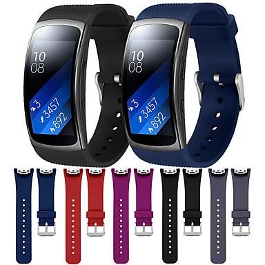 voordelige Horlogebandjes voor Samsung-horlogeband voor samsung gear fit 2 / gear fit 2 pro samsung galaxy moderne gesp / klassieke gesp / sportband siliconen polsband