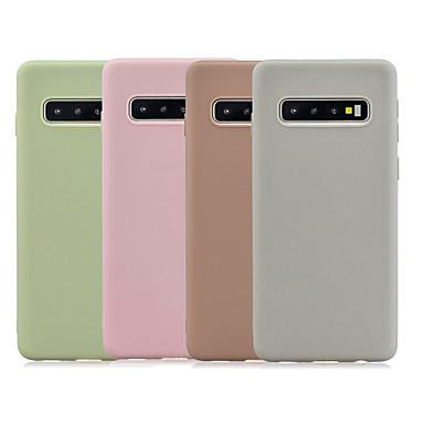 voordelige Galaxy S-serie hoesjes / covers-hoesje Voor Samsung Galaxy S9 / S9 Plus / S8 Plus Mat Achterkant Effen TPU