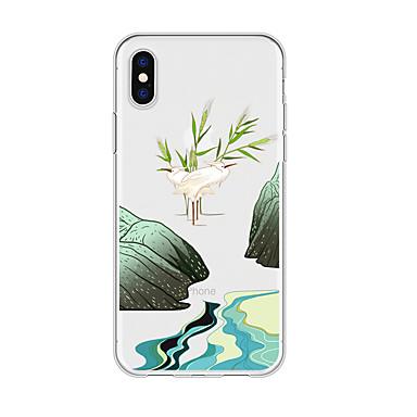 voordelige iPhone 6 hoesjes-hoesje voor iphone x xs max xr xs achterkant zachte hoes TPU eenvoudige bloem zachte TPU voor iPhone5 5s se 6 6p 6s sp 7 7p 8 8p16 * 8 * 1