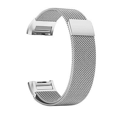 billige Telefontilbehør-Klokkerem til Fitbit Charge 2 Fitbit Milanesisk rem Rustfritt stål Håndleddsrem