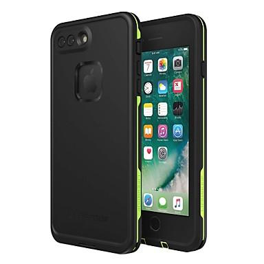 Недорогие Кейсы для iPhone-Кейс для Назначение Apple iPhone 8 Pluss / iPhone 7 Plus / iPhone 6s Водонепроницаемый / Защита от удара / Защита от пыли Кейс на заднюю панель Однотонный Мягкий ТПУ