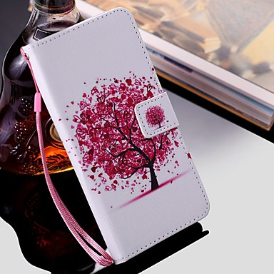 billige Galaxy Note 4 Etuier / Covere-etui til samsung galaxy note 9 / note 8 / note 5 lommebok / kortholder / med stativ i helkroppskuffer tre pu skinn til samsung galaxy note 10 / note 10 pluss / note 4