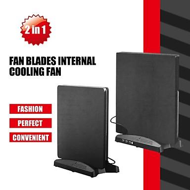 olcso Videojáték tartozékok-LITBest Töltőkészletek / Állógallér / Ventilátorok Kompatibilitás PS4 / Sony PS4 / PS4 Slim ,  Töltőkészletek / Állógallér / Ventilátorok ABS 1 pcs egység