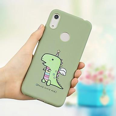 voordelige Huawei Mate hoesjes / covers-hoesje Voor Huawei Honor 10 Lite / Eer V20 / Eer 10i Schokbestendig / Mat / Patroon Achterkant dier Zacht TPU