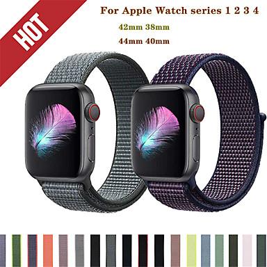 voordelige Smartwatch-accessoires-Horlogeband voor Apple Watch Series 5/4/3/2/1 Apple Sportband Nylon Polsband