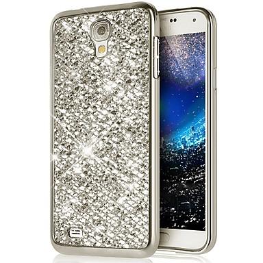 Недорогие Чехлы и кейсы для Galaxy S4 Mini-Кейс для Назначение SSamsung Galaxy S4 Mini Сияние и блеск Кейс на заднюю панель Сияние и блеск Мягкий силикагель