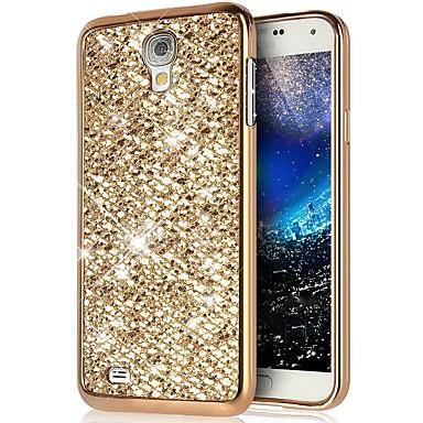 Недорогие Чехлы и кейсы для Galaxy S4 Mini-Кейс для Назначение SSamsung Galaxy S4 Mini Защита от удара / Защита от пыли / Сияние и блеск Кейс на заднюю панель Сияние и блеск Твердый ПК