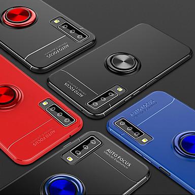 Недорогие Чехлы и кейсы для Galaxy A7-Кейс для Назначение SSamsung Galaxy A7 Матовое Кейс на заднюю панель Плитка / Пейзаж силикагель