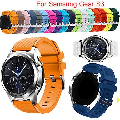 voordelige Horlogebandjes voor Samsung-gear s3 frontier strap voor samsung galaxy horloge 20 22mm horloge band correa huawei horloge gt actieve band versnelling sportband