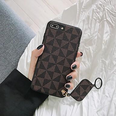 voordelige iPhone-hoesjes-hoesje voor Apple iPhone XS / iPhone XR / iPhone XS Max patroon achterkant effen gekleurd plastic / silicagel