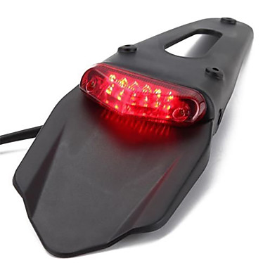 voordelige Motorverlichting-led motorfiets rood achterlicht voor crossmotor straat auto motorfiets accessoires