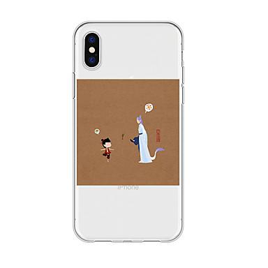 voordelige iPhone-hoesjes-hoesje Voor Apple iPhone XS / iPhone XR / iPhone XS Max Patroon Achterkant Cartoon TPU