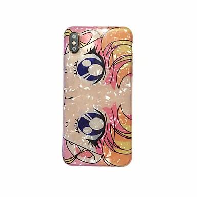 voordelige iPhone-hoesjes-hoesje voor iPhone 6 / 6s / 7/8 / x / xs / xr voor iphone 6 / 6s / 7/8 plus xs max imd / reliëf achterkant sexy dame / cartoon tpu