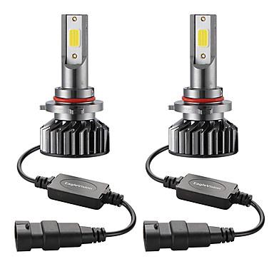 voordelige Autokoplampen-2 stks mini auto led koplamp lamp 9006 / hb4 hi / lo 72 w 10000lm 6000 k autokoplamp