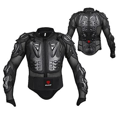 voordelige Beschermende uitrusting-herobiker motorjas volledige lichaamsbescherming jas wervelkolom borstbescherming motorcross racing moto bescherming