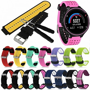 cheap Smartwatch Accessories-Watch Band for Forerunner 735 / Forerunner 630 / Forerunner 620 Garmin Classic Buckle / DIY Tools Silicone Wrist Strap