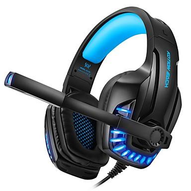 voordelige Gaming-oordopjes-kotion elke g9100 gaming-hoofdtelefoon met lichte microfoon stereo diepe bas hoofdtelefoon voor pc-computer gamer laptop bedrade headset