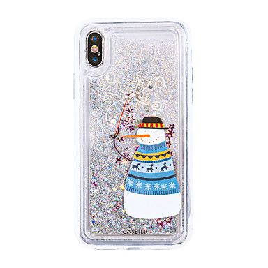 voordelige iPhone 6 Plus hoesjes-hoesje Voor Apple iPhone XS / iPhone XR / iPhone XS Max Waterbestendig / Stofbestendig / Stromende vloeistof Achterkant Cartoon TPU