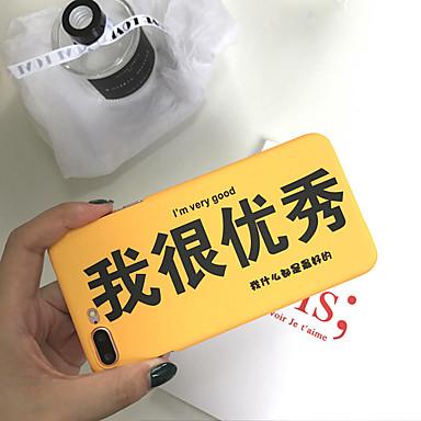 voordelige iPhone 7 hoesjes-hoesje Voor Apple iPhone XS / iPhone XR / iPhone XS Max Stofbestendig / Patroon Achterkant Woord / tekst PC