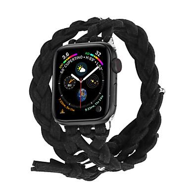 Недорогие Ремешки для Apple Watch-Ремешок для часов для Apple Watch Series 4/3/2/1 Apple Инструменты сделай-сам Материал Повязка на запястье