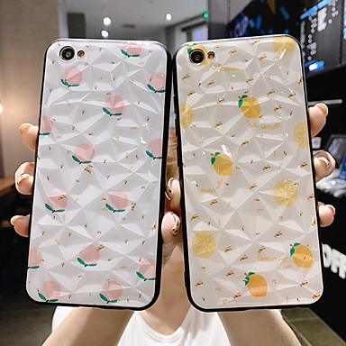cheap Up to $0.99-Case For OPPO OPPO R11s / OPPO R11 Plus / OPPO R11 Dustproof / Pattern Back Cover Food / Cartoon PC