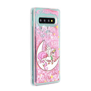 voordelige Galaxy S-serie hoesjes / covers-hoesje voor Samsung Galaxy S9 S9 Plus telefoonhoes TPU materiaal geschilderd patroon drijfzand telefoonhoesje voor Samsung Galaxy S8 S8 Plus S10 S10 Plus