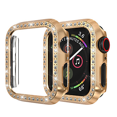 Недорогие Кейсы для Apple Watch-для яблочных часов серия iwatch 44мм / 40мм / 38мм / 42мм серия 4 3 2 1 чехол для iwatch защитная рамка с кристаллами из хрусталя