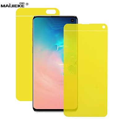 cheap 30% OFF & Up-hydrogel nano film for samsung galaxy m20 m10 m30 s8 s9 s10 plus e note 8 9 front & back full cover screen protector not glass