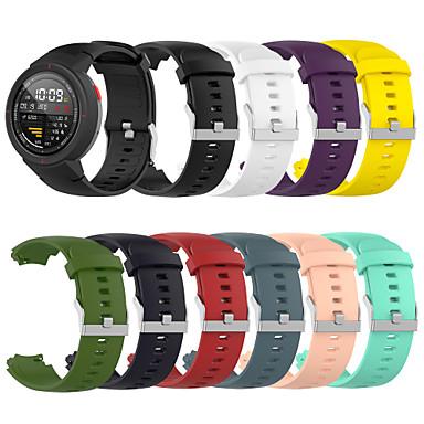 Недорогие Ремешки для часов Huawei-ремешок для часов huami amazfit verge (a1801) ремешок для часов huawei sport band силиконовый ремешок