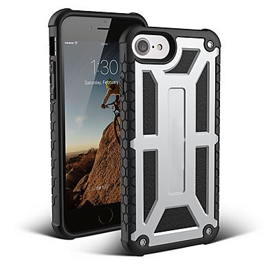 voordelige iPhone 7 hoesjes-hoesje voor Apple iPhone XS / iPhone XR / iPhone XS Max schokbestendige achterkant Armor TPU / koolstofvezel