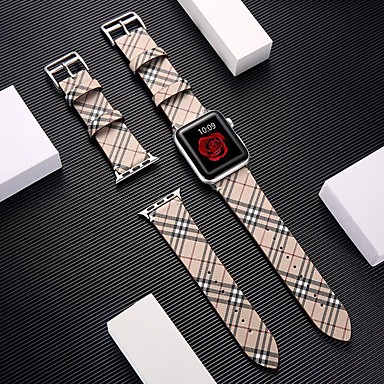 billige Apple Watch urremme-armbånd til apple watch serie 4/3/2/1 apple classic spænde ægte læder armbånd