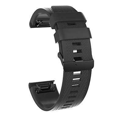 voordelige Smartwatch-accessoires-Horlogeband voor Fenix 5x / Fenix 5s / Fenix 5 Garmin Sportband Silicone Polsband