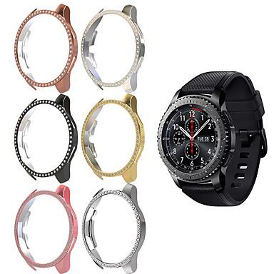 voordelige Horlogebandjes voor Samsung-vrouwen diamant pc beschermhoes voor Samsung Galaxy horloge 46 mm hoes lichtgewicht bumper dunne schaal accessoires