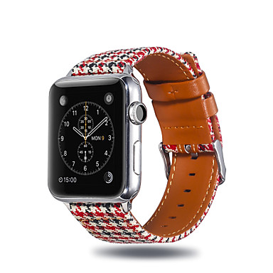 voordelige Smartwatch-accessoires-Horlogeband voor Apple Watch Series 4 / Apple Watch Series 3 / Apple Watch Series 2 Apple Sportband Stof / Silicone Polsband