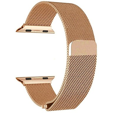 voordelige Smartwatch-accessoires-Horlogeband voor Apple Watch Series 4/3/2/1 Apple Milanese lus Roestvrij staal Polsband
